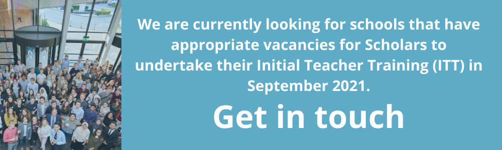 Looking for schools with ITT vacancies from September 2021